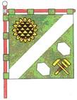 флаг города Пологи, Запорожской обл.